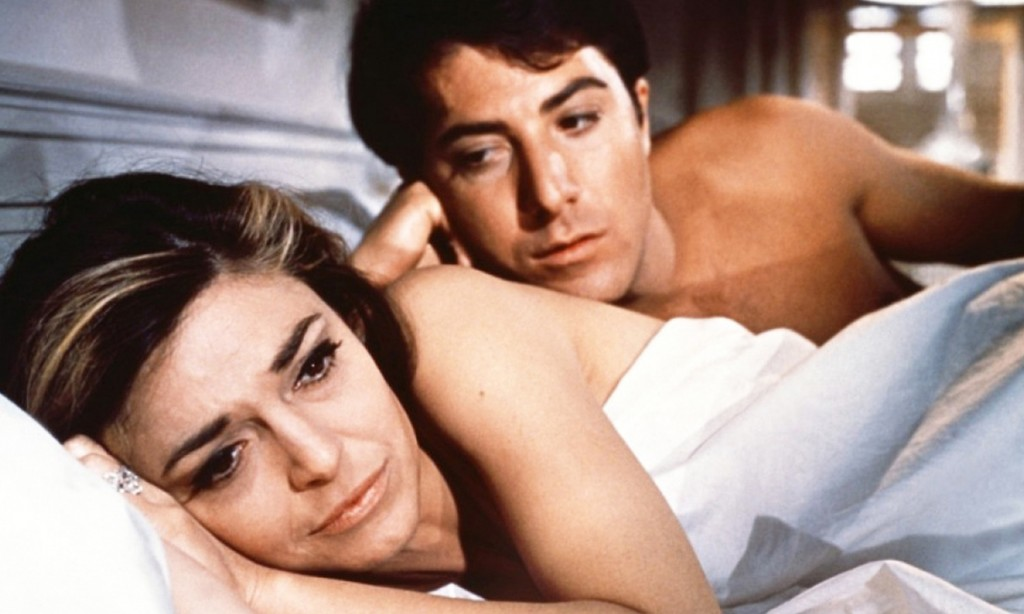The Graduate (1967) Anne bancroft, Dustin Hoffman Credit: Embassy Pictures/Courtesy Neal Peters Collection