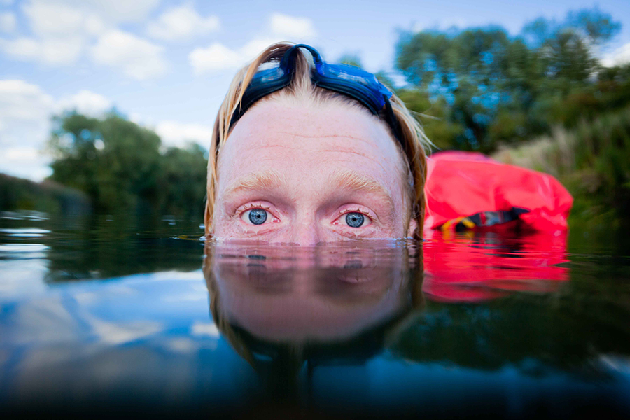 Wild swimming. Image credit: Alastair Humphreys