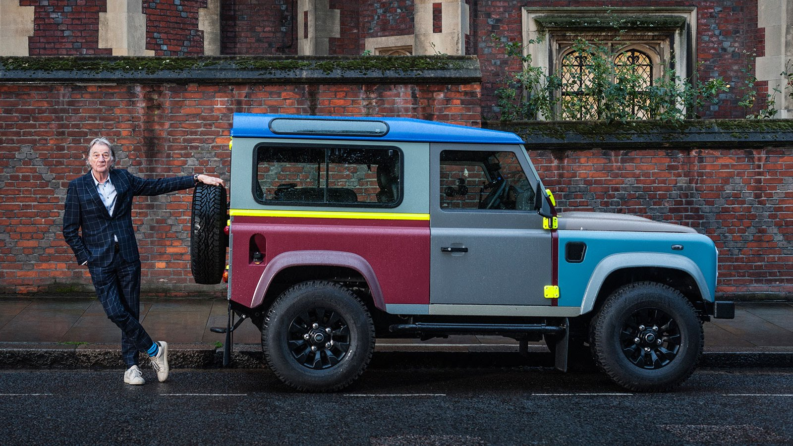 Used Land Rover Defender >> Paul Smith x Land Rover Defender | nigelclare.com